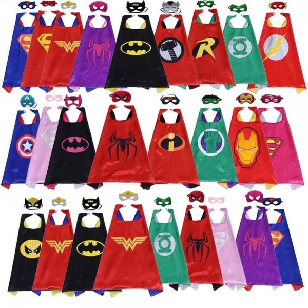 Detail Feedback Questions About Classic Kids Superhero Capes With