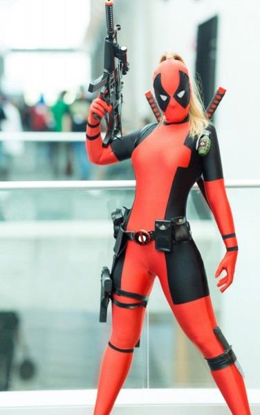 3d Printing Custom Made Deadpool Superhero Costume Women Girl Lady