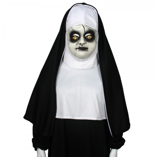 Children's The Nun Horror Cosplay Mask Cosplay Valak Costume
