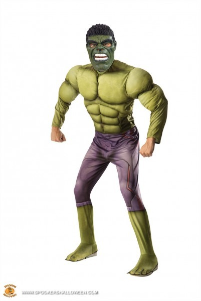 Hulk From Avengers 2 Costumes For Men Spookers Halloween
