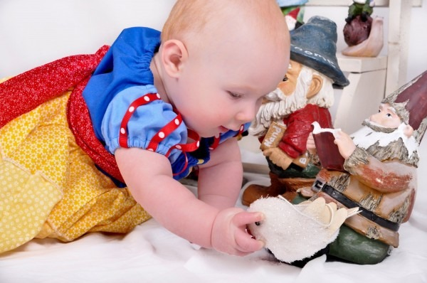 Little Snow White Dress 6 Months