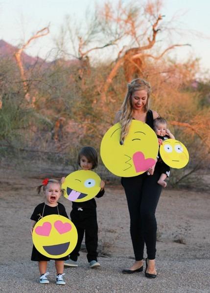 Diy  Last Minute Emoji Halloween Costumes