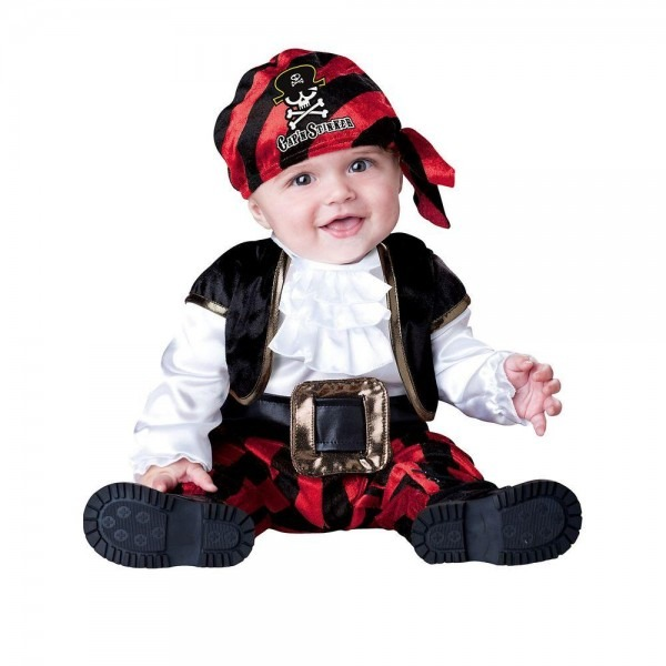 Incharacter Costumes Infant Toddler Captain Stinker Pirate Costume