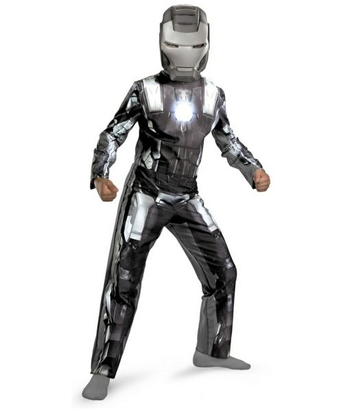 Iron Man 2 War Machine Kids Ironman Movie Costume