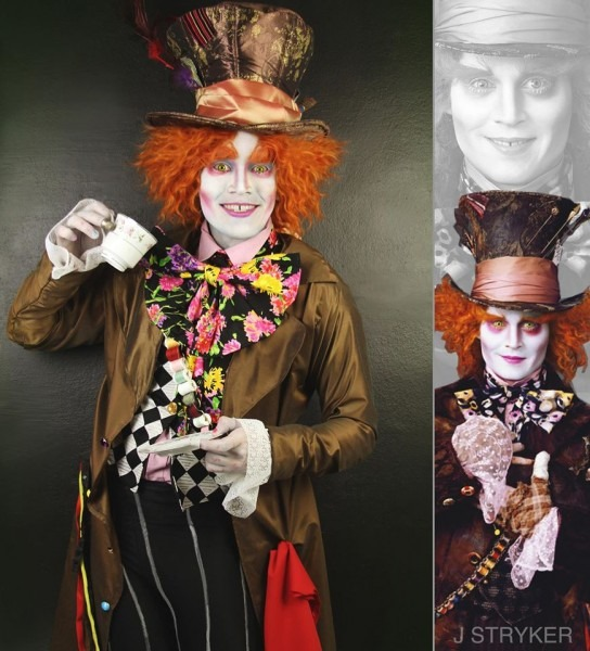 International Cosplayer Dresses Up As Johnny Depp Characters For