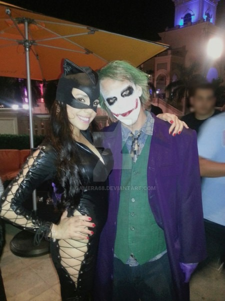 Joker And Catwoman Halloween 2013 By Gamera68 On Deviantart