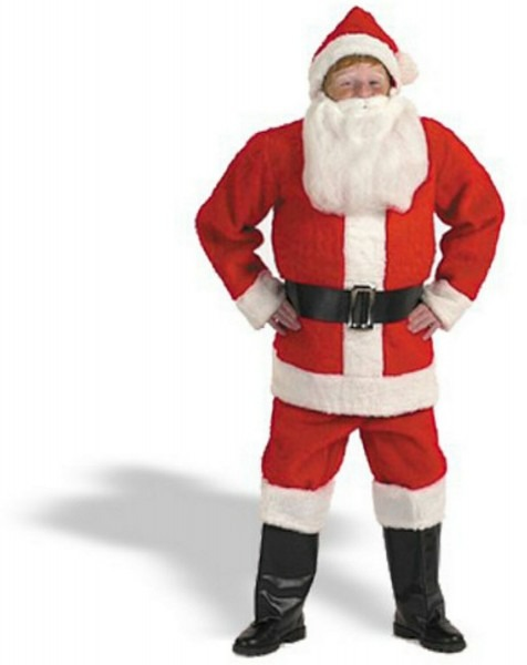 62 Santa Costume For Children, Kids Flannel Santa Costume Costume