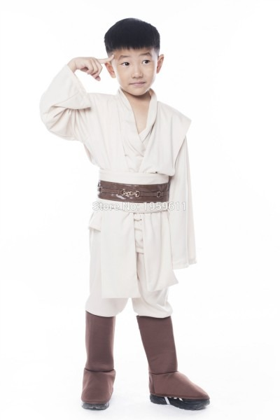 Kids Star Wars Robe Boy's Star Wars Deluxe Jedi Costume