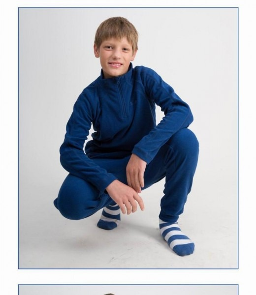 Kids Thermal Underwear Boys Set Girls Thermal Top And Bottom Set