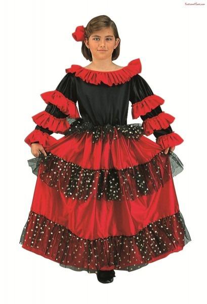Spanish Beauty Girl Costume