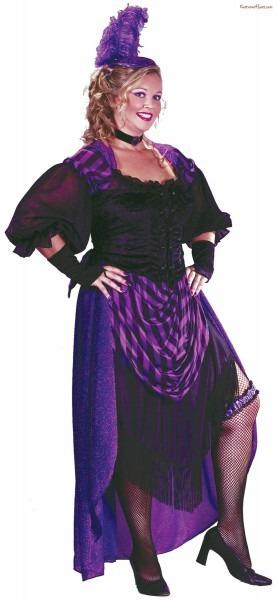 Lady Maverick Plus Size Costume