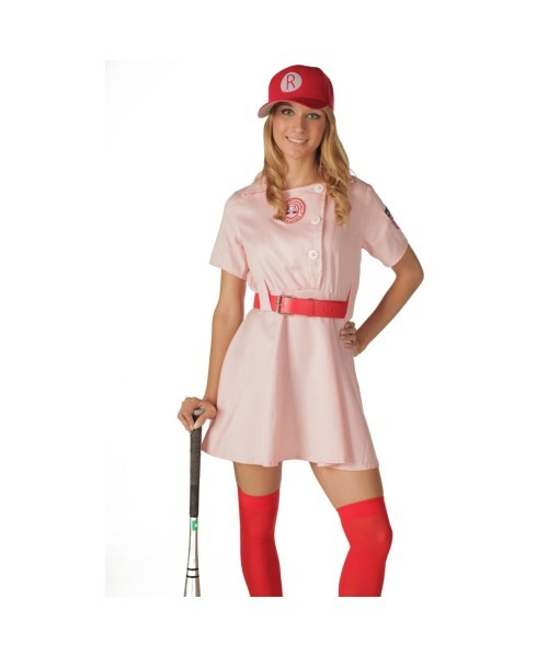 Adult A League Of Their Own Movie Halloween Costume