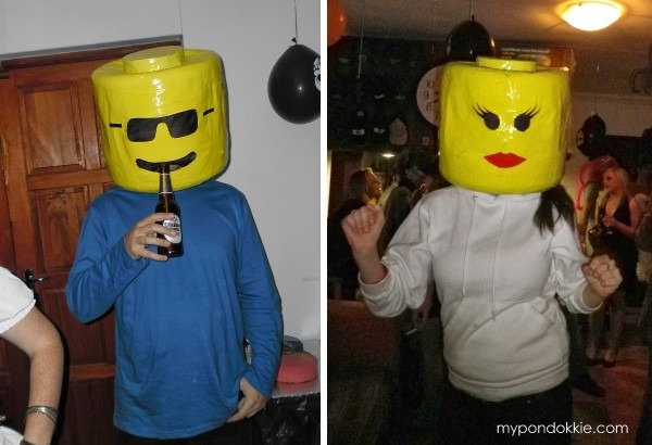 My Pondokkie  Lego Head Halloween Costume