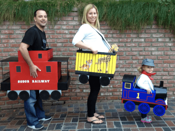 Little Girl Thomas The Tank Engine And Family Costumes