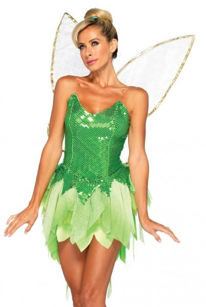 45 Male Tinkerbell Costume, Toddler Green Tinkerbell Fairy Costume