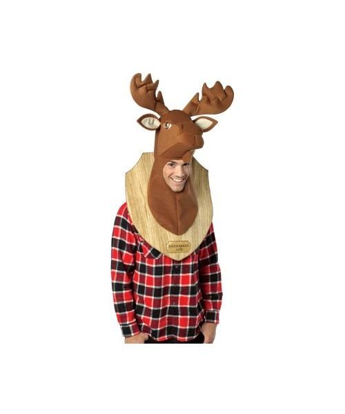 Adult Loose Moose Trophy Head Costume