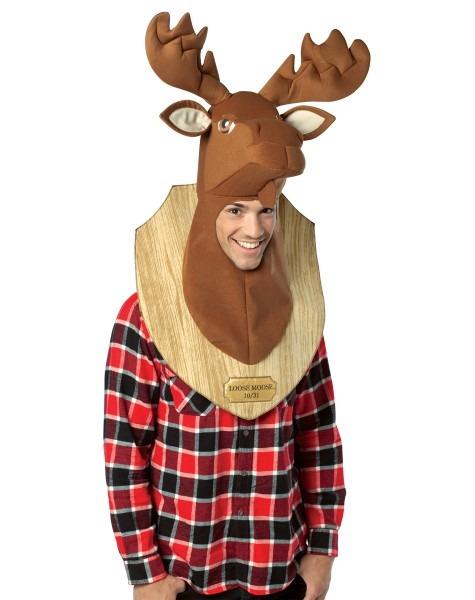 Loose Moose Trophy Head Costume