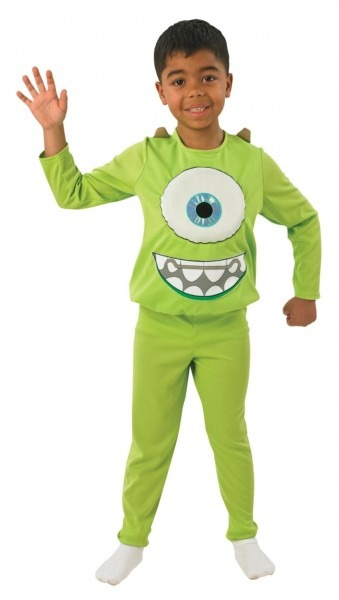 Monsters Inc  Deluxe Mike Costume