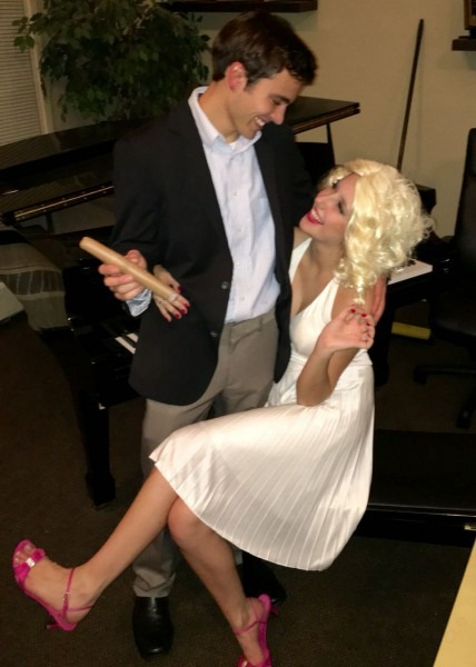 Marilyn Monroe And Jfk Couples Costume Halloween Ideas Of Trophy
