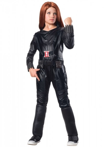 Avengers Black Widow Marvel Girls Costume