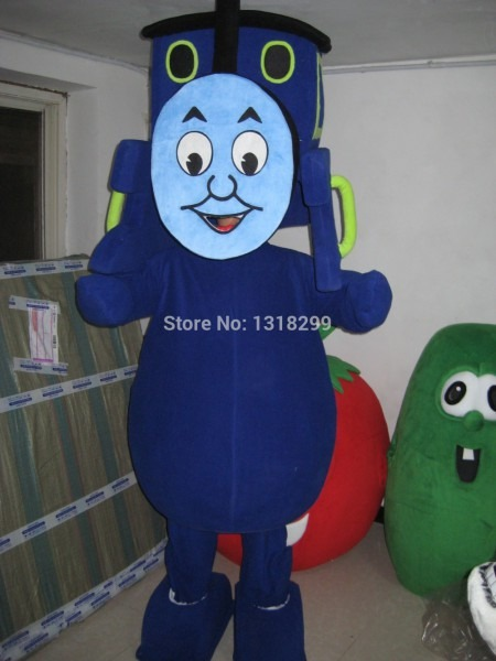 Mascot Tank Engine Railway Train Mascot Costume Fancy Dress Custom