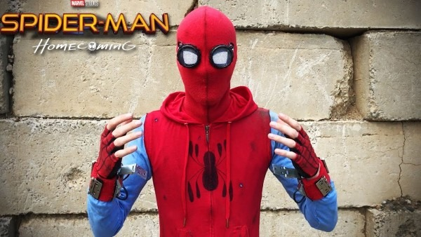 My Spider Man  Homecoming  Homemade Suit !