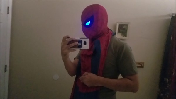 Infinity War Spider _nation Light Up Lenses And Faceshell!