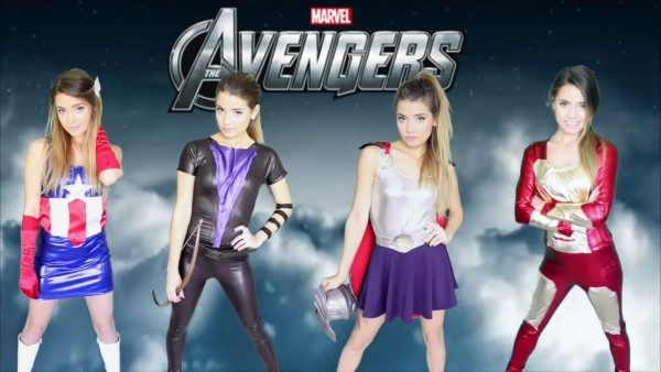 Diy Marvel Avengers Halloween Costumes