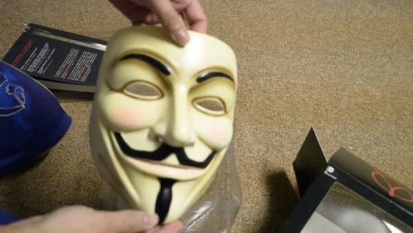 V For Vendetta Book And Mask Set Unboxing