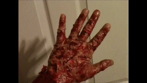 Freddy Krueger Hand Makeup