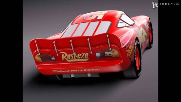 Lightning Mcqueen Zigzag 3d Model From Creativecrash Com