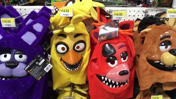 Fnaf Halloween Masks At Walmart