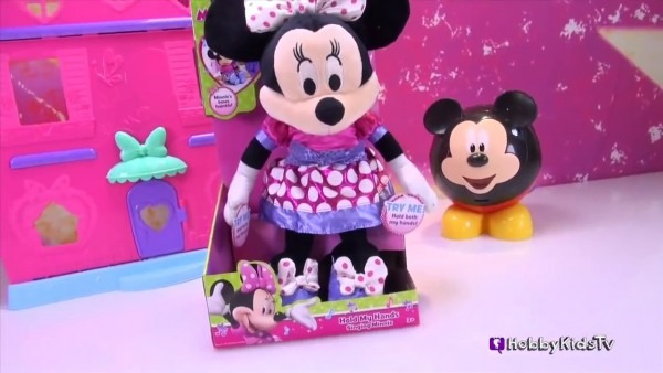 Minnie Mouse Bow Tunes Singing Lights Up! Review Hobbykidstv