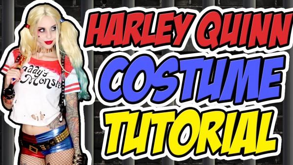 Harley Quinn (suicide Squad) Costume Tutorial