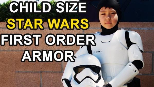Child Size Star Wars First Order Stormtrooper Armor