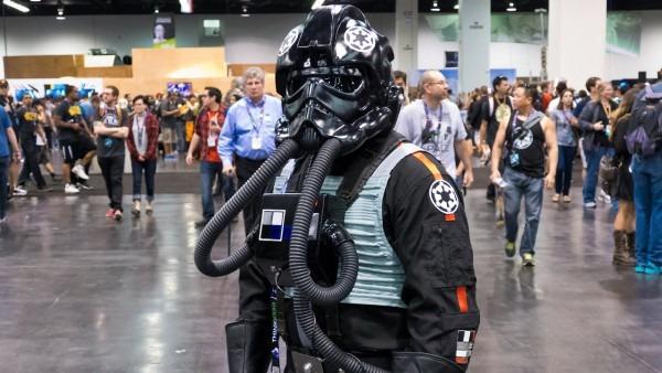 Tie Fighter Pilots At Star Wars Celebration 2015
