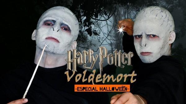 Lord Voldemort Halloween Makeup