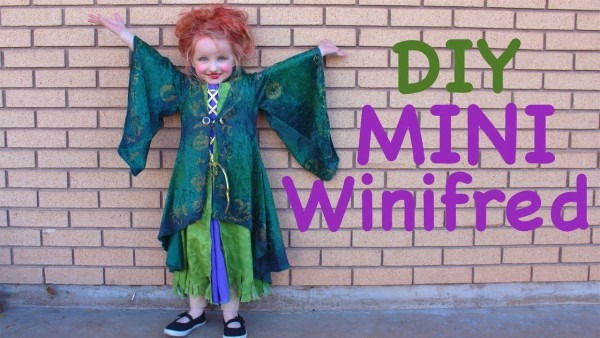 How To Make A Mini Winifred Sanderson Costume For Little Girls