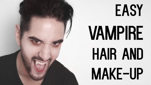 Cheap And Easy Vampire Look