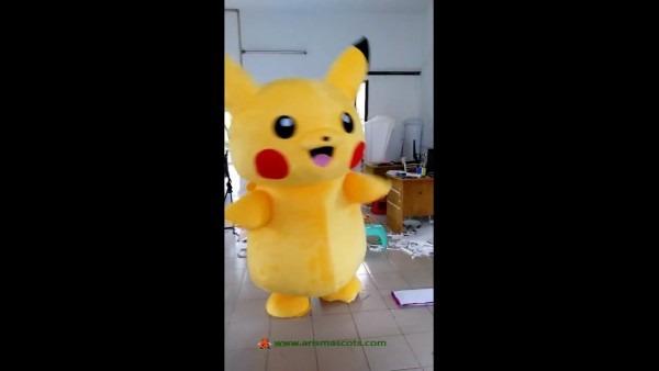 Pikachu Suit Pokémon Go Mascot Costume For Sale