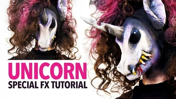 Unicorn Special Fx Makeup Tutorial (the Evil One)