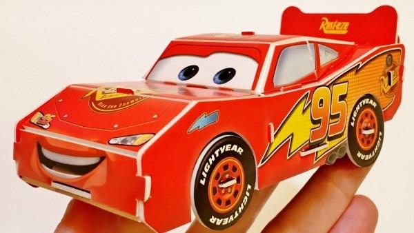 Disney Pixar Cars 3d Puzzle Building Lightning Mcqueen Toys Fun
