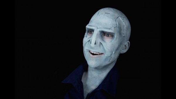 Voldemort Halloween Makeup Tutorial!