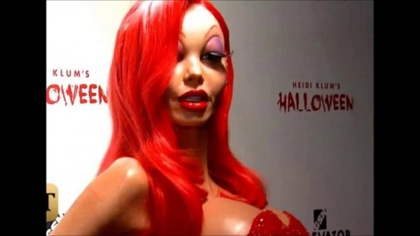 The Queen Of Halloween  Heidi Klum's Transformation Into Jessica