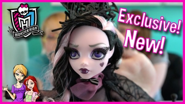 New Monster High Draculaura Collector's Doll Exclusive First Look