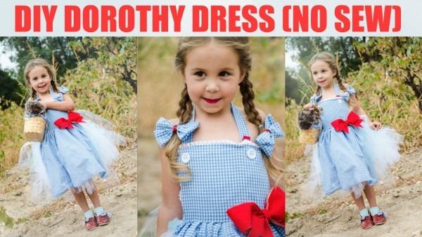 Diy No Sew Dorothy Dress