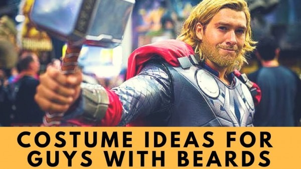 Halloween Costume Ideas For Guys With Beards  Tv, Movie, & Video