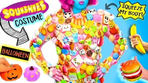 Full Body Of 500 Squishies  Squeeze Me In This Interactive Stress