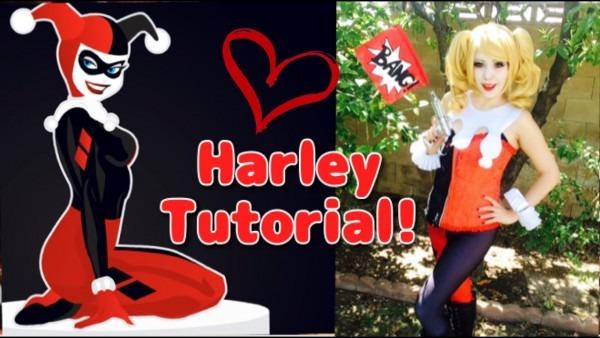 Harley Quinn Cosplay Tutorial  Bang Gun!