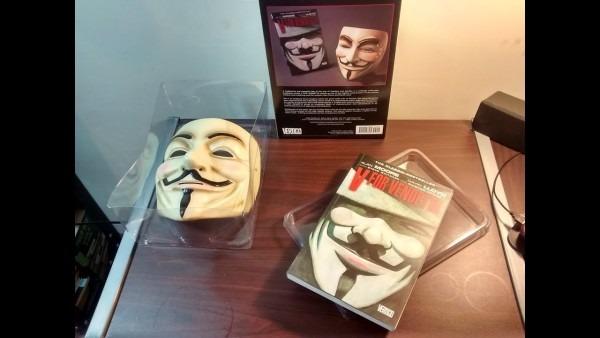 Unboxing V For Vendetta